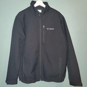 Columbia Men's Black Zip-up Shell Jacket (L)